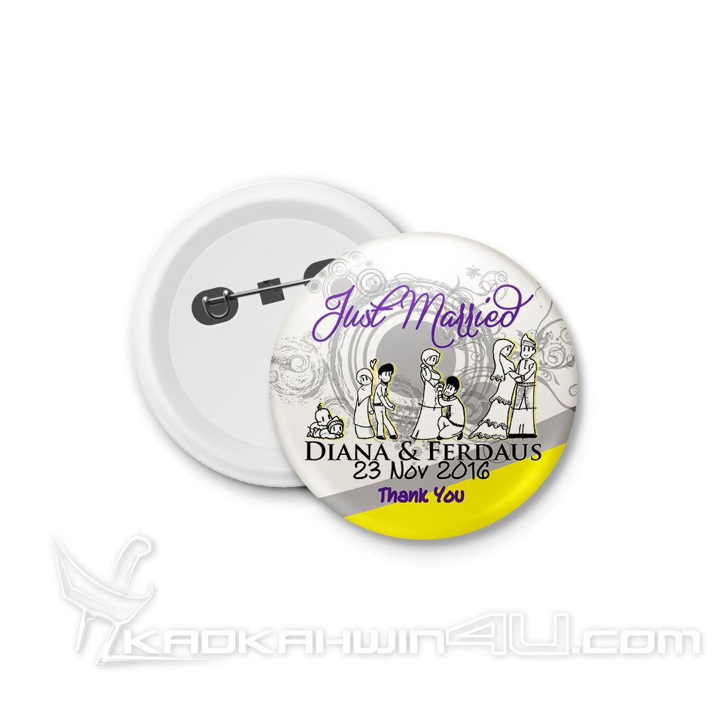 BB-DK16 Button Badge
